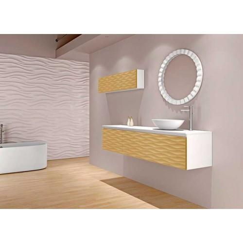 Mueble de baño Bellezza de 120cm serie Compact modelo Ocean