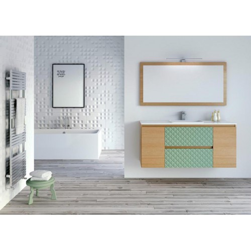 Mueble de baño Barcos de 120cm serie Compact modelo Diamond