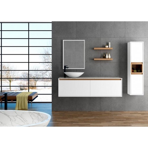 Mueble de baño Barcos de 160cm serie Minimal Expression