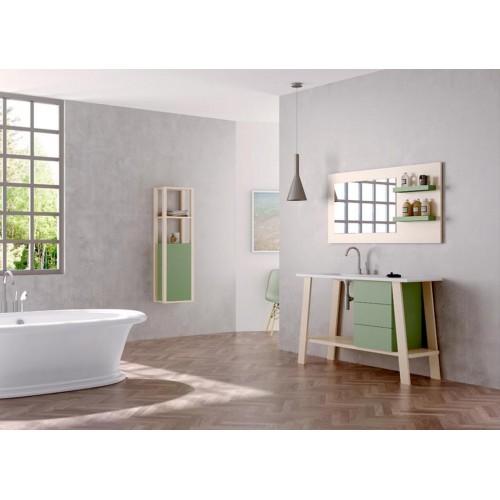 Mueble de baño Barcos de 120cm serie Hypster modelo Jazz