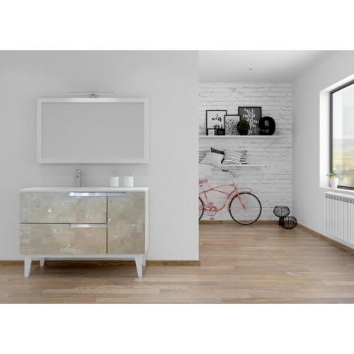Mueble de baño 120cm serie Union Manhattan Barcos