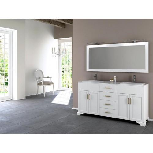 Mueble de baño Barcos de 140cm serie Artists modelo Flandes