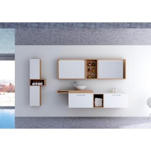 Conjunto mueble de baño Barcos de 200cm serie Custom modelo Legend