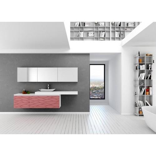 Conjunto mueble de baño Barcos de 180cm serie Compact modelo Garden