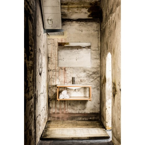 Mueble de baño Mondial Bathroom de 80cm serie Flint