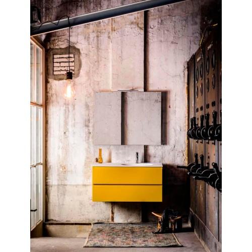 Mueble de baño 80 cm serie Hay Ocher Mondial Bathroom