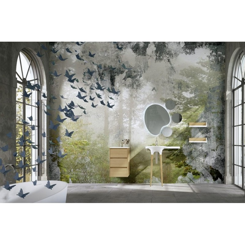 DecoBannio mueble de baño 44 cm serie Twist 01 MiBaño