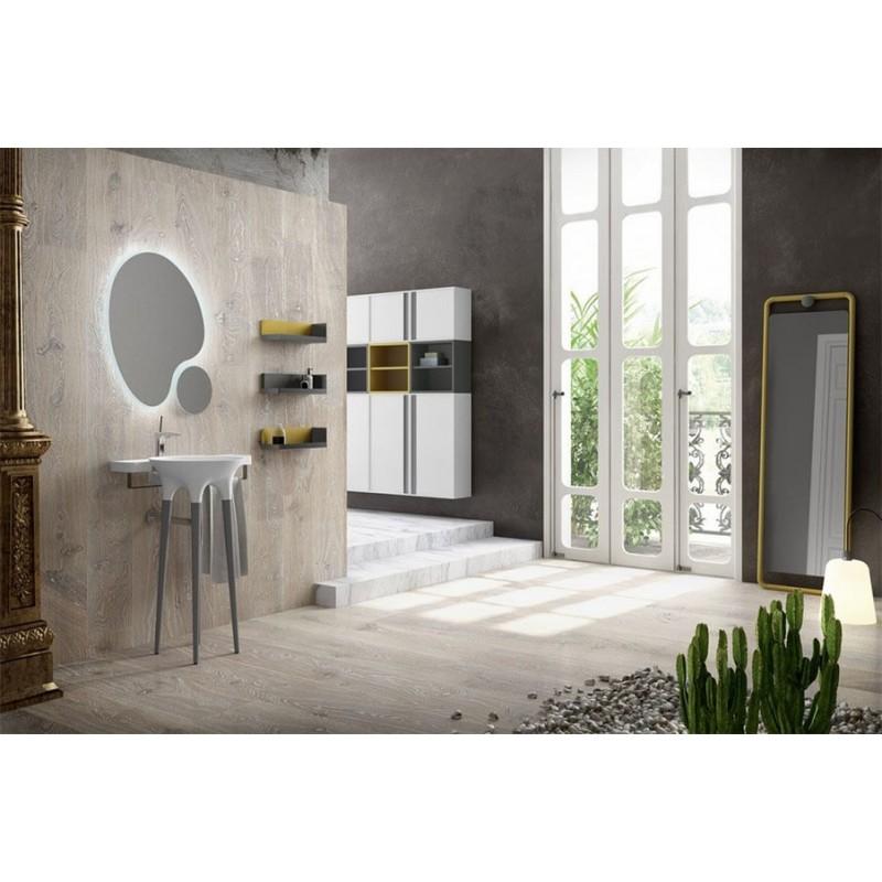 DecoBannio mueble de baño 44 cm serie Twist 02 MiBaño