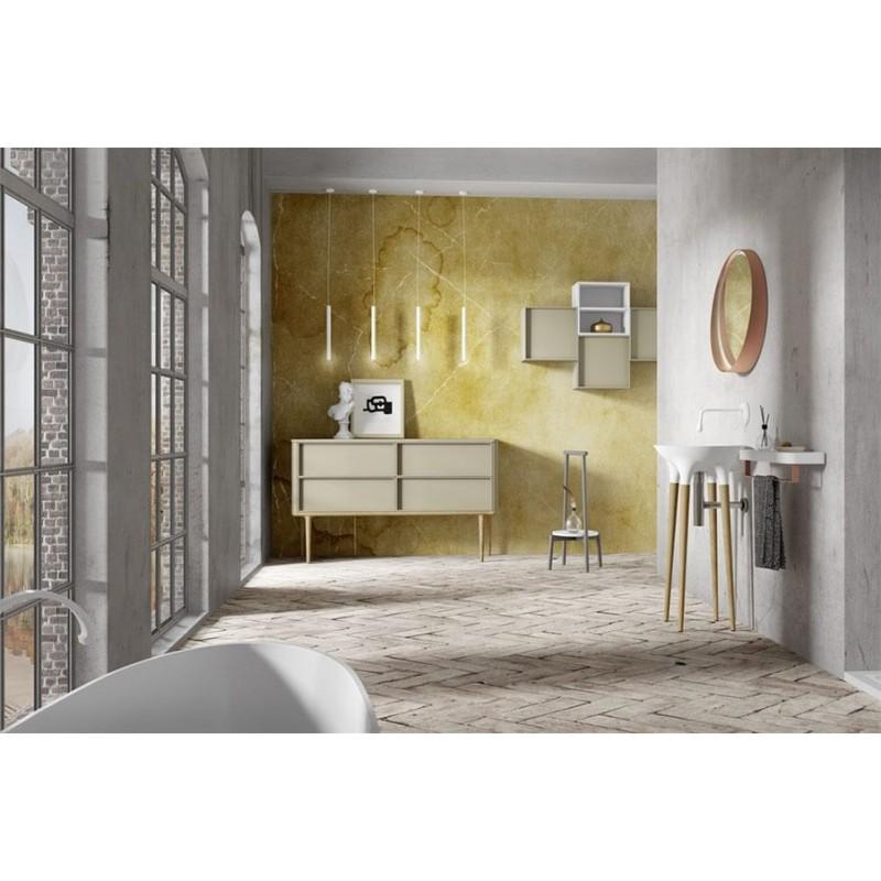 DecoBannio mueble de baño 44 cm serie Twist 07 MiBaño