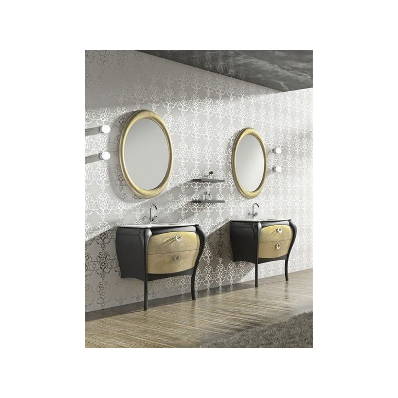 Mueble de baño 85 cm serie Paulina 12 MiBaño