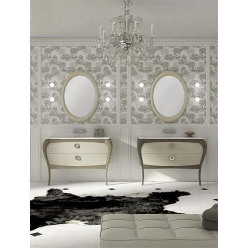 Mueble de baño 125 cm serie Paulina 03 MiBaño