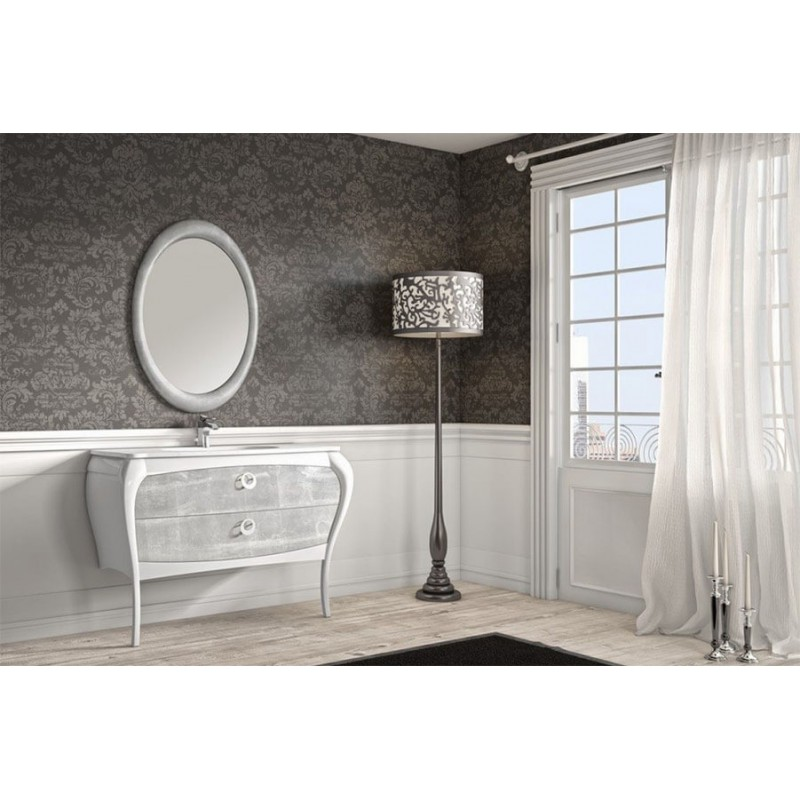 Mueble de baño 125 cm serie Paulina 08 MiBaño