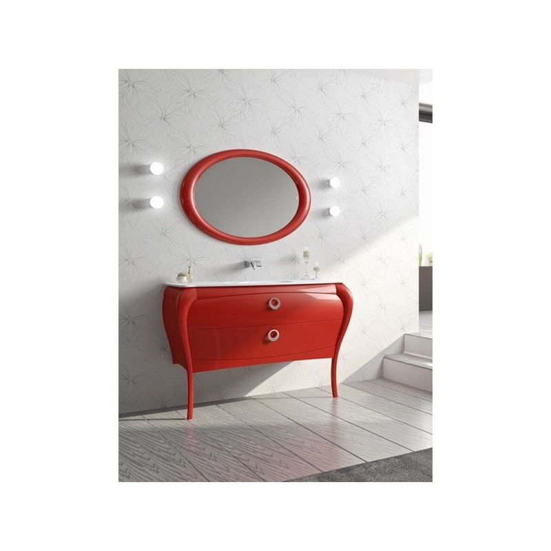 Mueble de baño 125 cm serie Paulina 07 MiBaño