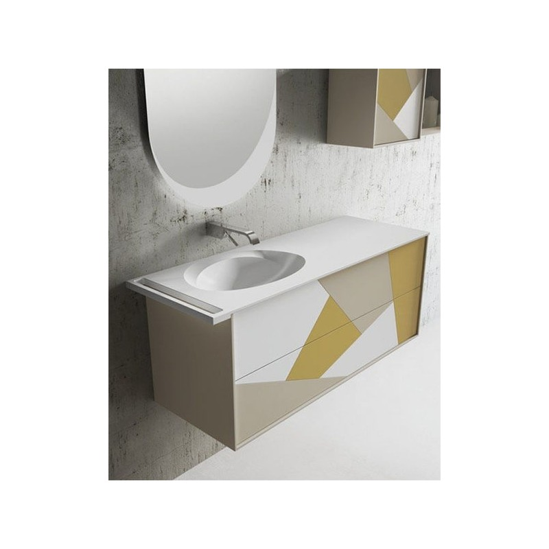 Mueble de baño 100 cm serie Today Síntesis 12.1 MiBaño