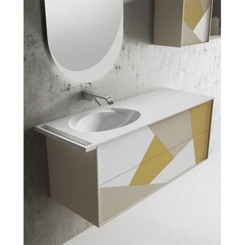 Mueble de baño MiBaño de 120 cm serie Today Síntesis 12