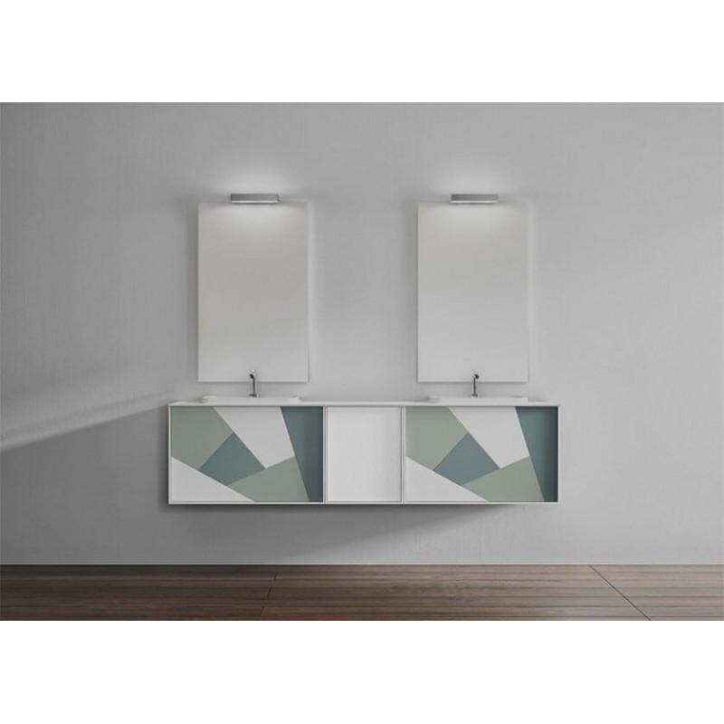 Mueble de baño 200 cm serie Today Síntesis 24 MiBaño