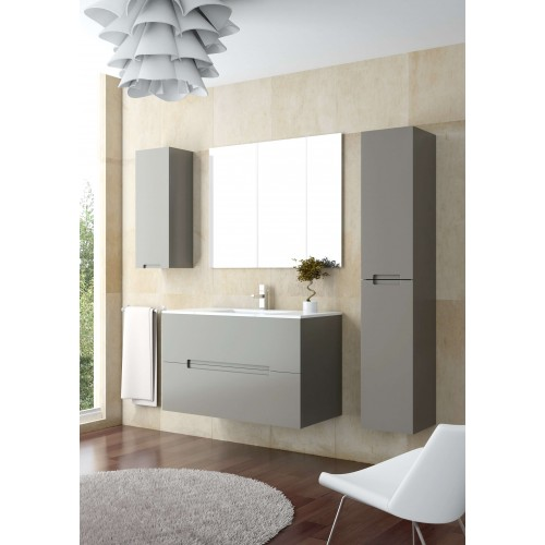 Mueble de baño OmeyaBath de 80cm serie Óvalo