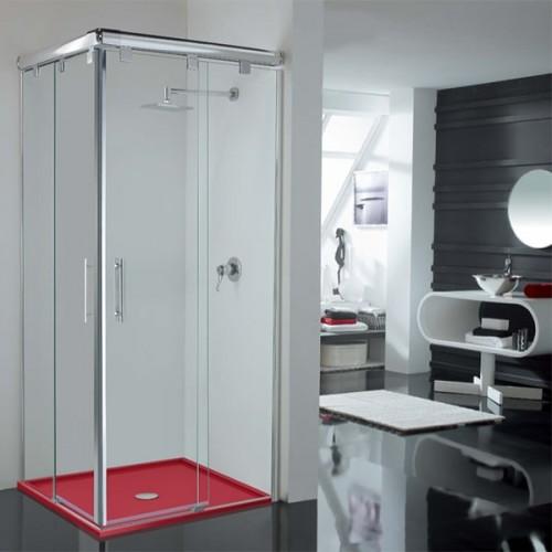 Mampara de ducha Kabinglass corredera serie Sión modelo Sury