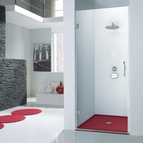 Mampara de ducha Kabinglass abatible serie Sión modelo Tursa
