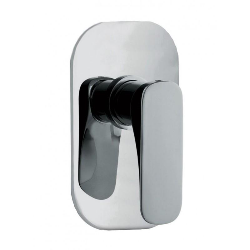 Grifo mezclador empotrado para ducha serie Quad