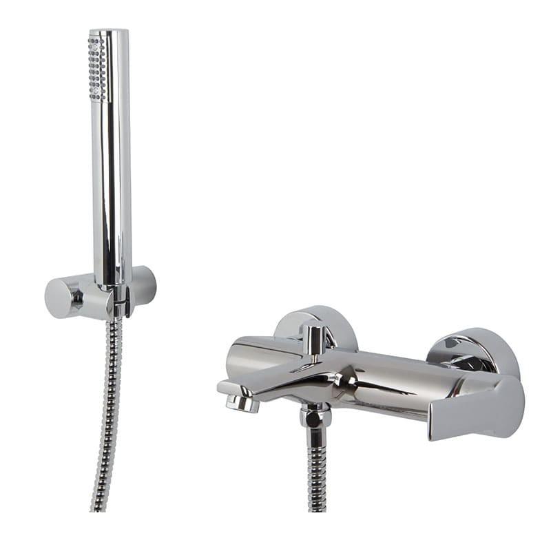 Grifo mezclador para bañera con set de ducha serie Mast