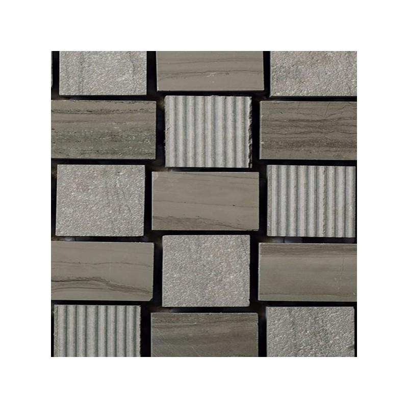 Mosaico Cuadrado Piedra Grabada Moca