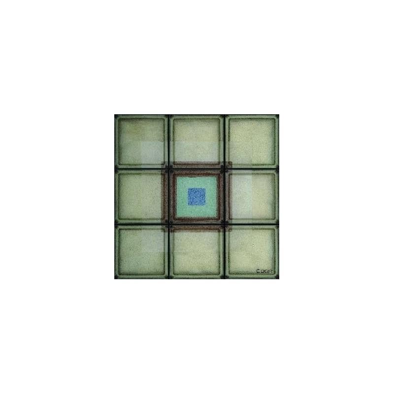 Composición de 9 bloques de vidrio Big Trendy