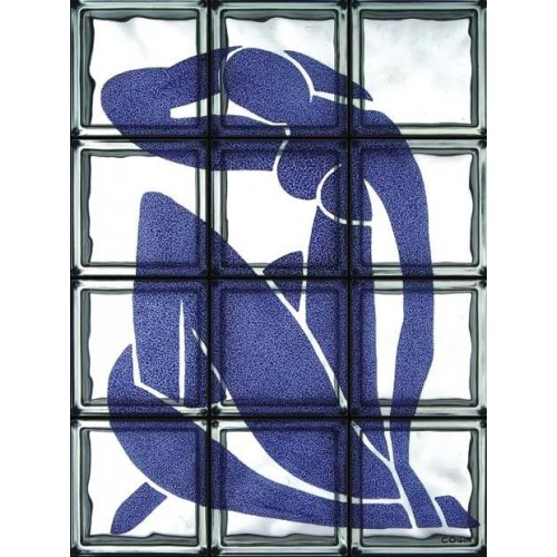 "Omaggio a Matisse ""Nudo Blu""  de 12 Bloques"