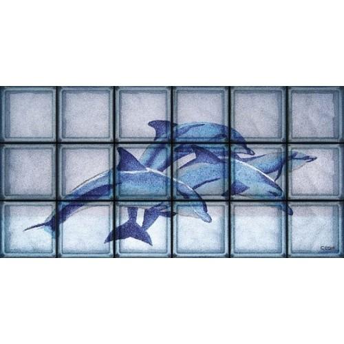 Blue Dolphins de 18 Bloques