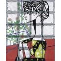 """Omaggio a Picasso """"Ritratto a Jacqueline Roque"""" de 20 Bloques"""