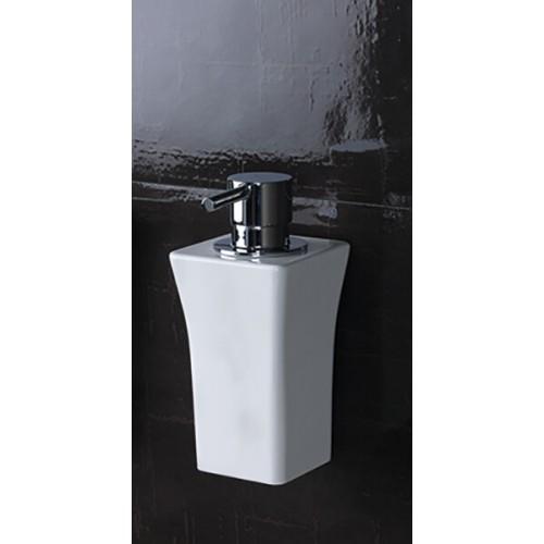 Dosificador de jabón blanco Regia Domovari serie Astoria