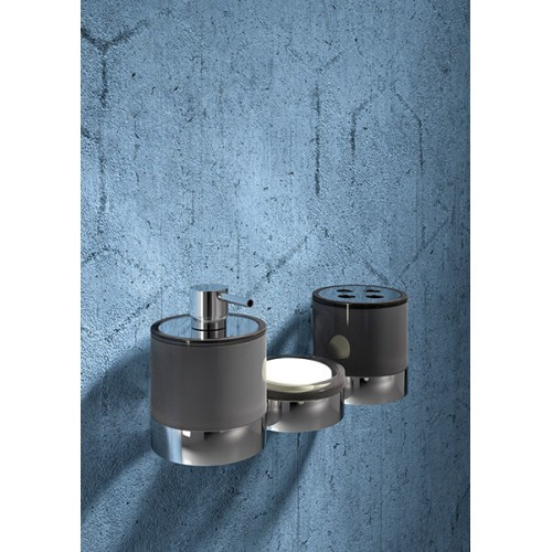 Conjunto de baño de pared 3 piezas Regia Domovari serie Maxxxi