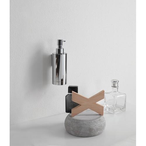 Dosificador de jabón redondo de pared Regia Domovari serie Mondrian