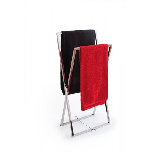 Toallero cromo Regia Domovari serie Mondrian
