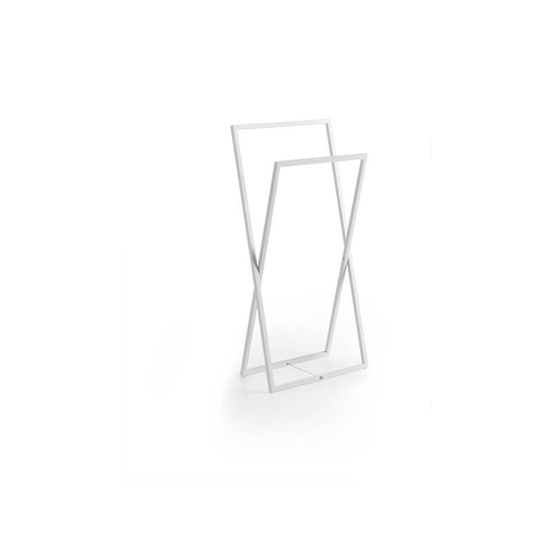 Toallero blanco Regia Domovari serie Mondrian