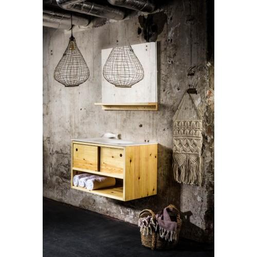 Mueble de baño Mondial Bathroom de 100cm serie Fipp