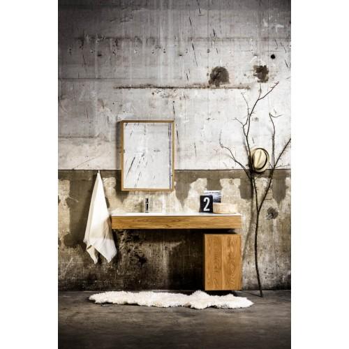 Mueble de baño 100 cm serie Hende Oak Mondial Bathroom