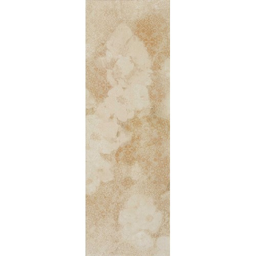 Revestimiento Habitat serie Bliss Crema Ornato de 25.1x75.6cm