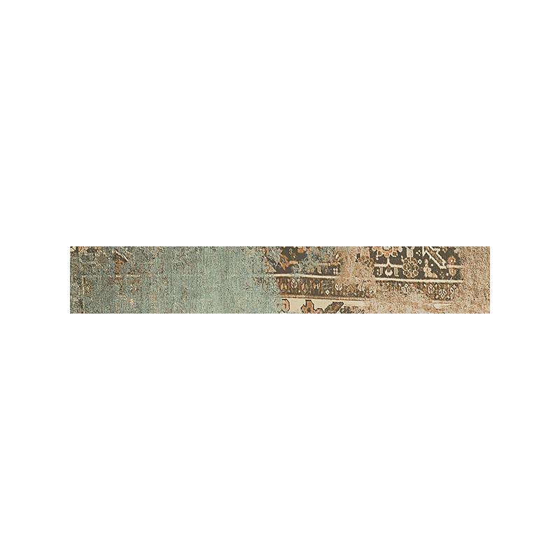 Rodapié Habitat serie Bagdad Green de 8x50cm