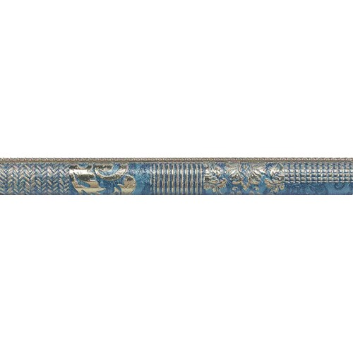 Moldura Habitat serie Sumeria Blue de 3.5x31.6cm
