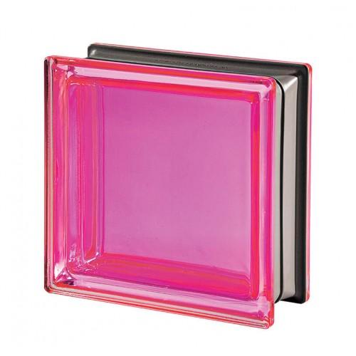 Bloque de vidrio Mendini Corallo 19x19x8cm