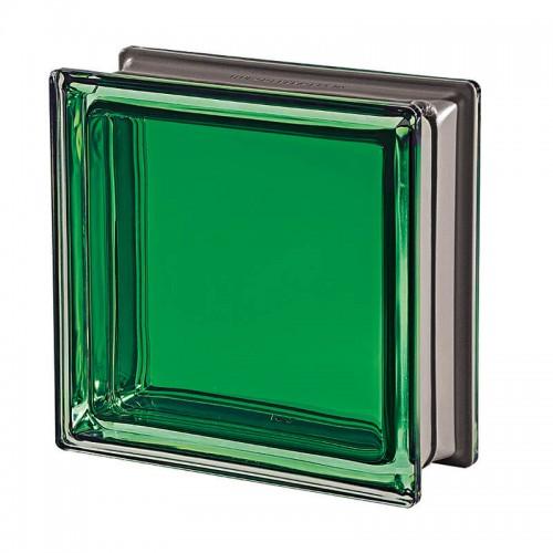 Bloque de vidrio Mendini Giada 19x19x8cm