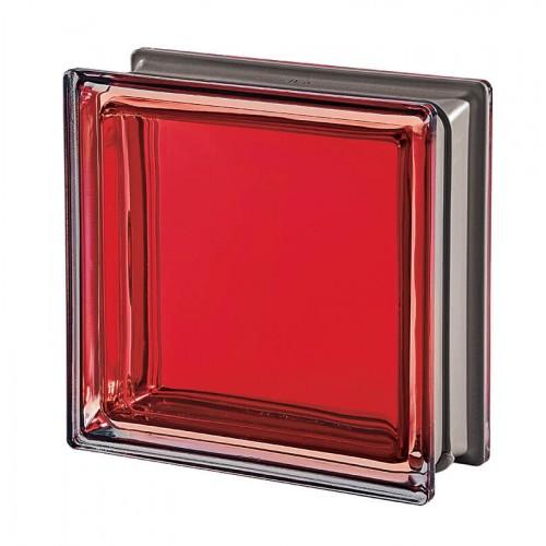 Bloque de vidrio Mendini Rubino 19x19x8cm