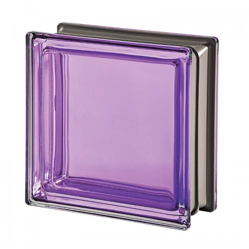 Bloque de vidrio Mendini Tormalina 19x19x8cm