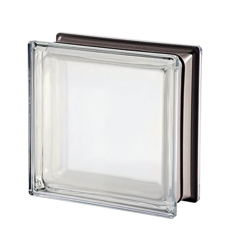 Bloque de vidrio Mendini White 30% 19x19x8cm
