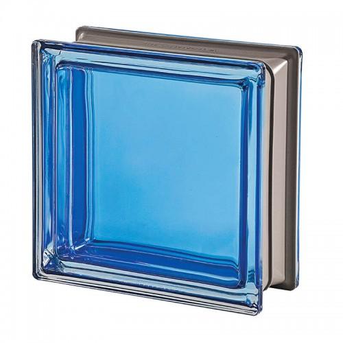 Bloque de vidrio Mendini Zaffiro 19x19x8cm