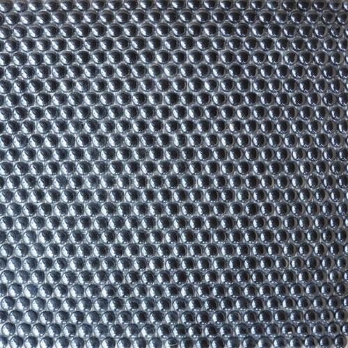 Mosaico Redondo Esmaltado Negro con Lustre - MALLA