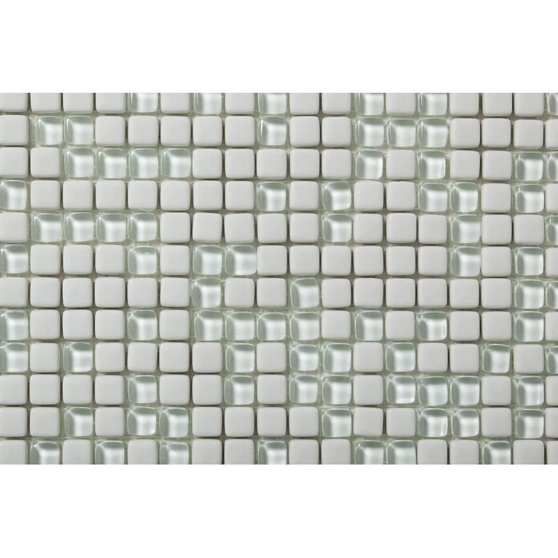 Mosaico Cuadrado Esmaltado con cristal Nº 1