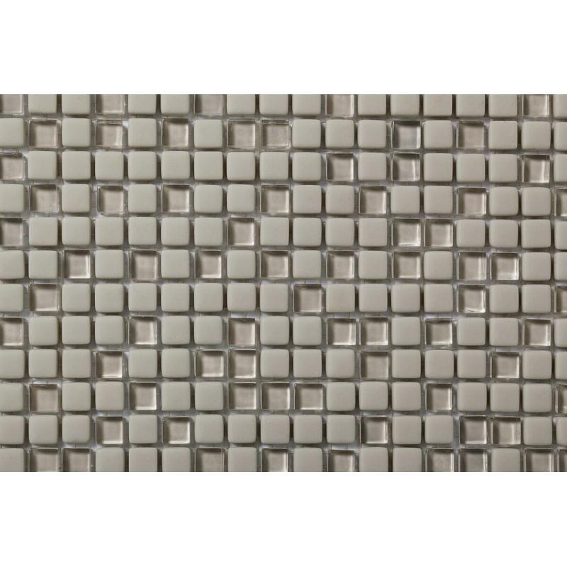 Mosaico Cuadrado Esmaltado con Cristal Nº 2A