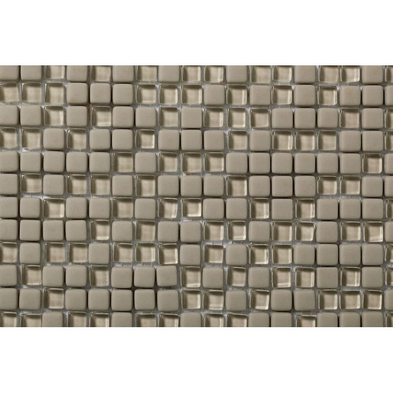 Mosaico Cuadrado Esmaltado con Cristal Nº 3
